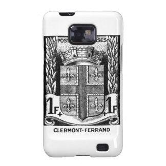 Escudo de armas, Clermont-Ferrand Francia Galaxy SII Fundas
