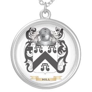 Escudo de armas Colina-Inglés (escudo de la famili Colgante Redondo