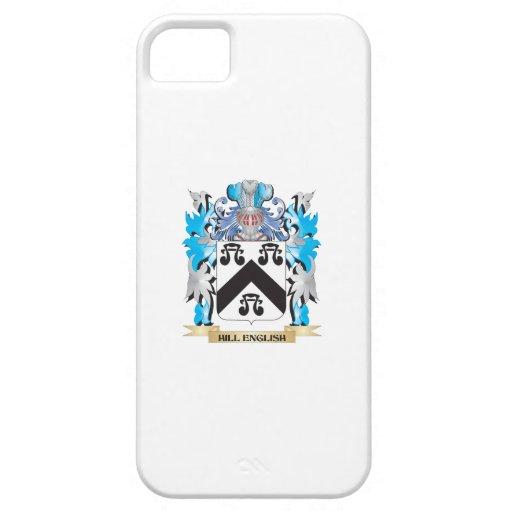 Escudo de armas Colina-Inglés - escudo de la iPhone 5 Case-Mate Funda