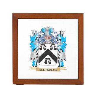 Escudo de armas Colina-Inglés - escudo de la