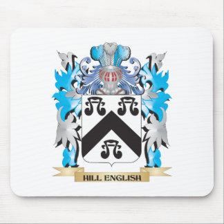 Escudo de armas Colina-Inglés - escudo de la Alfombrilla De Ratón