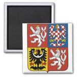 Escudo de armas CZ de la República Checa Iman De Frigorífico