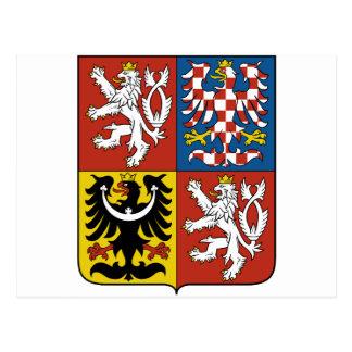 Escudo de armas CZ de la República Checa Postal