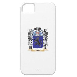 Escudo de armas de Abad - escudo de la familia iPhone 5 Carcasa