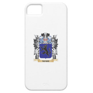 Escudo de armas de Abade - escudo de la familia iPhone 5 Carcasas