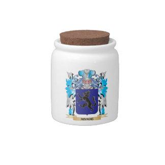 Escudo de armas de Abade Platos Para Caramelos