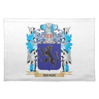Escudo de armas de Abade Mantel