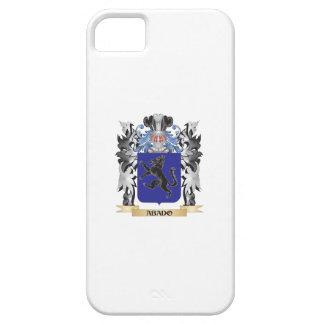 Escudo de armas de Abado - escudo de la familia Funda Para iPhone 5 Barely There