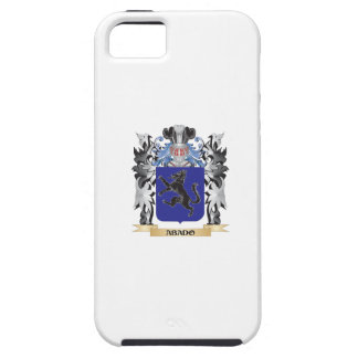 Escudo de armas de Abado - escudo de la familia Funda Para iPhone 5 Tough