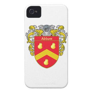 Escudo de armas de Abbott/escudo de la familia Case-Mate iPhone 4 Fundas