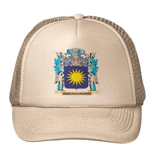 Escudo de armas de Abrahamson Gorras