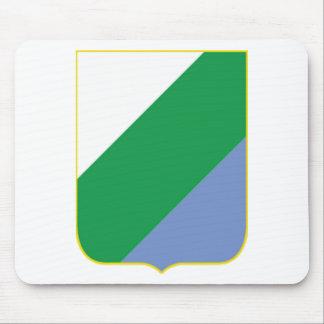Escudo de armas de Abruzos Italia Tapete De Ratón