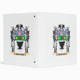 "Escudo de armas de Acheson - escudo de la familia Carpeta 1"""