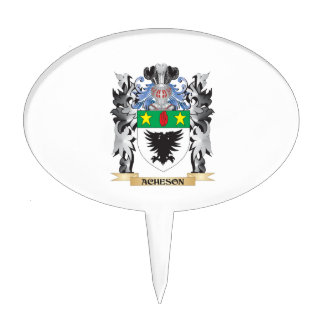 Escudo de armas de Acheson - escudo de la familia Decoraciones De Tartas