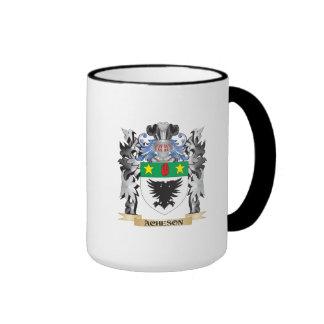Escudo de armas de Acheson - escudo de la familia Taza A Dos Colores