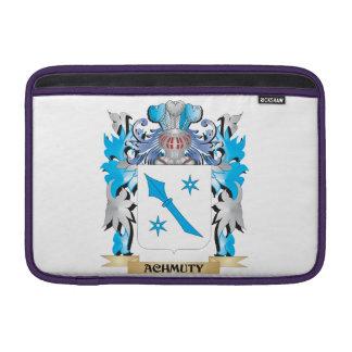 Escudo de armas de Achmuty Fundas Para Macbook Air