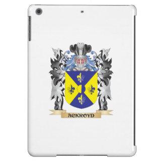 Escudo de armas de Ackroyd - escudo de la familia Funda Para iPad Air