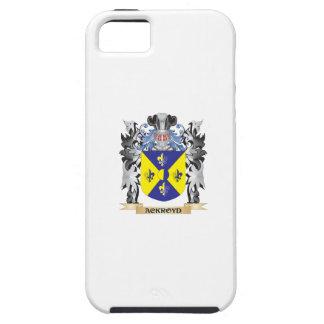 Escudo de armas de Ackroyd - escudo de la familia iPhone 5 Funda