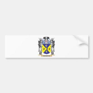 Escudo de armas de Ackroyd - escudo de la familia Pegatina Para Auto