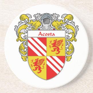 Escudo de armas de Acosta/escudo de la familia: Posavasos Para Bebidas