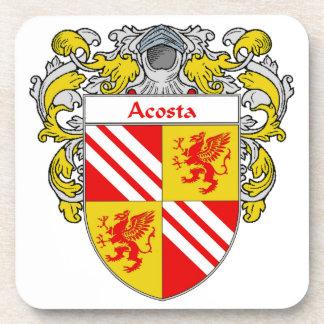 Escudo de armas de Acosta/escudo de la familia: Posavasos De Bebidas