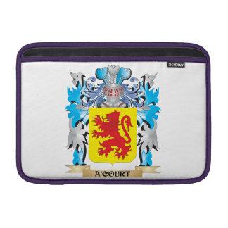 Escudo de armas de A'Court Fundas MacBook