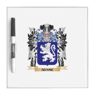 Escudo de armas de Adame - escudo de la familia Pizarras Blancas
