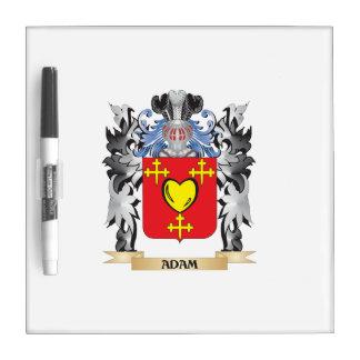 Escudo de armas de Adán - escudo de la familia Pizarras Blancas De Calidad