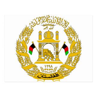 Escudo de armas de Afganistán Postales