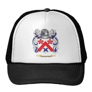 Escudo de armas de Agnew (escudo de la familia) Gorras