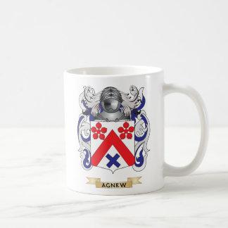 Escudo de armas de Agnew (escudo de la familia) Taza De Café