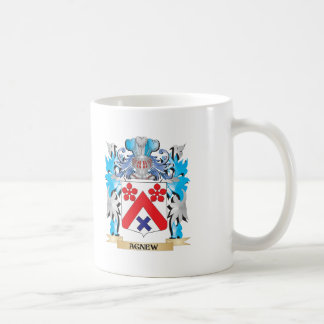 Escudo de armas de Agnew Taza De Café