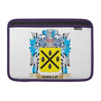 Escudo de armas de Agrillo Funda Macbook Air
