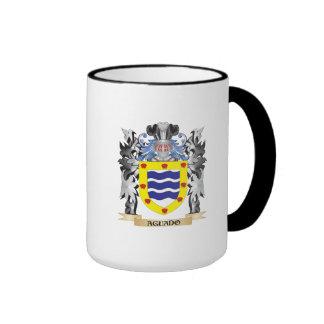 Escudo de armas de Aguado - escudo de la familia Taza A Dos Colores