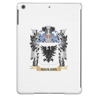 Escudo de armas de Aguilera - escudo de la familia Funda Para iPad Air