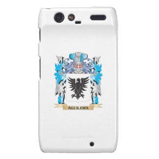 Escudo de armas de Aguilera Motorola Droid RAZR Fundas