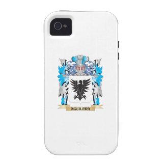 Escudo de armas de Aguilera iPhone 4/4S Carcasas