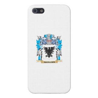 Escudo de armas de Aguilera iPhone 5 Protector