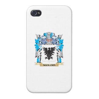 Escudo de armas de Aguilera iPhone 4 Funda