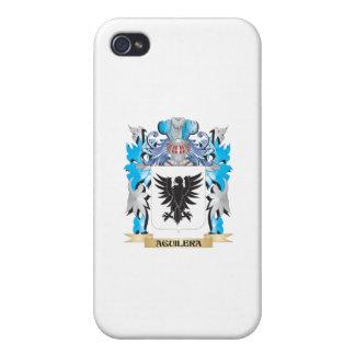 Escudo de armas de Aguilera iPhone 4 Fundas