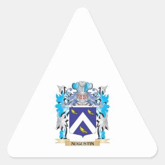 Escudo de armas de Agustín Colcomanias De Trianguladas