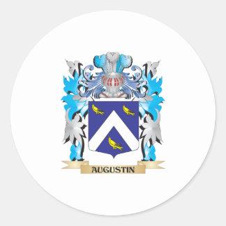 Escudo de armas de Agustín Etiqueta