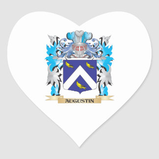 Escudo de armas de Agustín Colcomanias Corazon