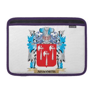 Escudo de armas de Aisworth Fundas Para Macbook Air