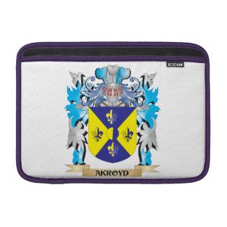 Escudo de armas de Akroyd Fundas MacBook