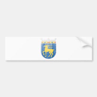 Escudo de armas de Aland Pegatina Para Auto
