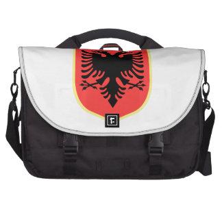 Escudo de armas de Albania Bolsas Para Portatil