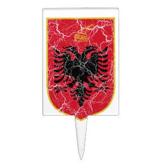 Escudo de armas de Albania Decoración Para Tarta