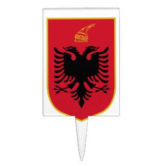 Escudo de armas de Albania Figura De Tarta