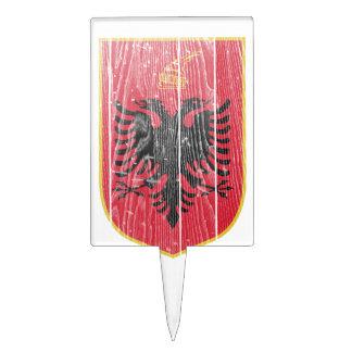 Escudo de armas de Albania Figura Para Tarta